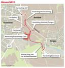 De nieuwe N629 tussen Oosterhout en Dongen.