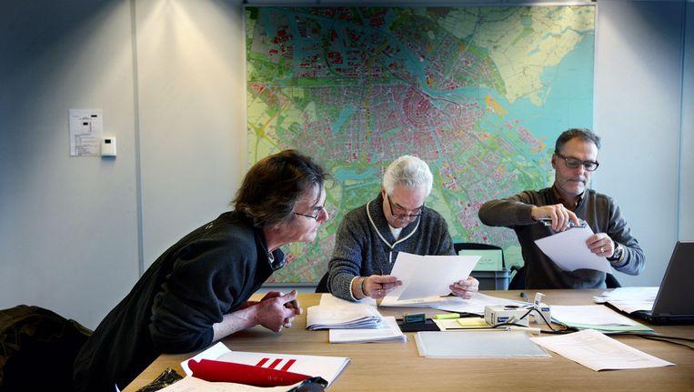 Inleveren kandidatenlijsten Beeld Jean-Pierre Jans