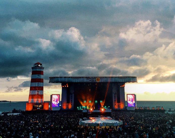 Concert at Sea valt de Nederlandse top tien van festivals op het gebied van 'merkkracht' binnen op nummer 8.