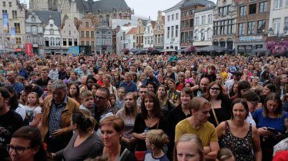 Grote Markt loopt vol voor Niels Destadsbader