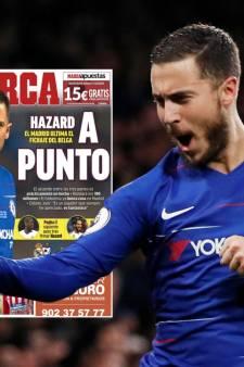 Real nadert deal met Chelsea: 'Hazard zoekt al huis in Madrid'