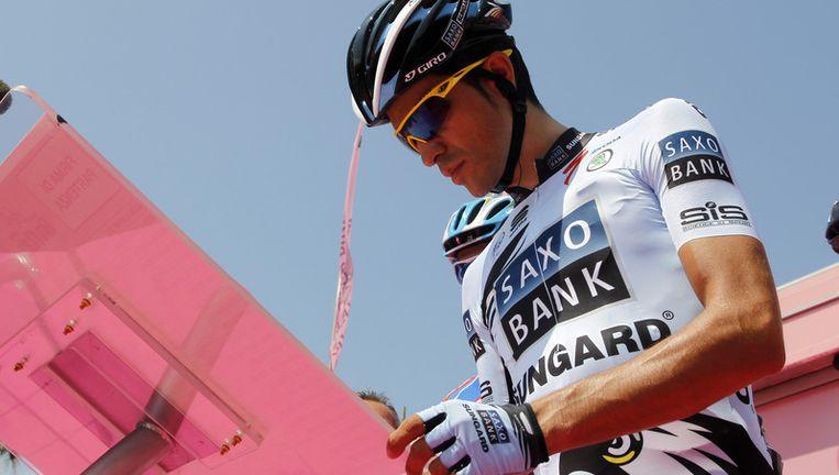 Contador. Beeld afp