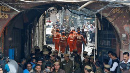 Minstens 40 doden door brand in fabriek New Delhi