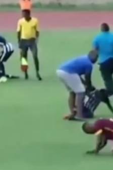 Deux footballeurs frappés par la foudre en plein match