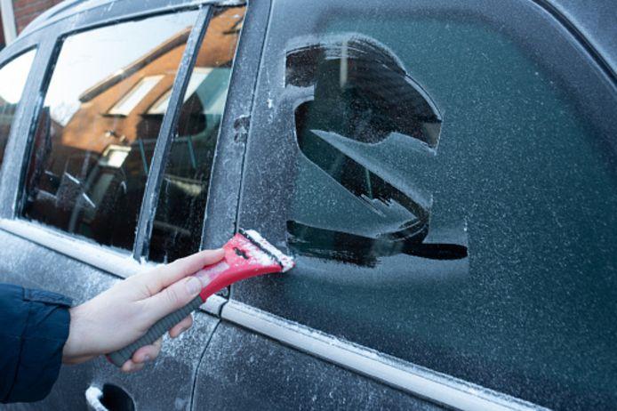 Illustratiebeeld, tips om je auto te beschermen tegen vrieskou.