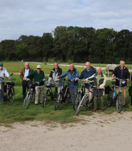 450 fietstochten voor de Old Bikers: 'Het is inmiddels knap om ergens te fietsen waar we nog niet eerder fietsten'