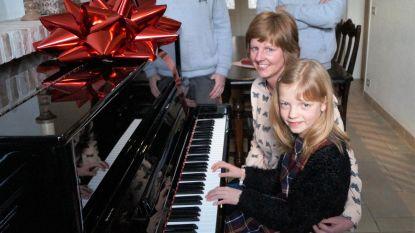 Flore (8) wint gloednieuwe piano met eigen versie van Mia