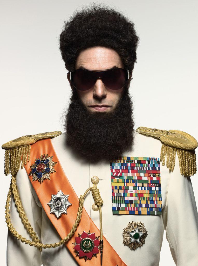 Sacha Baron Cohen in The Dictator, een film uit 2012. Beeld Paramount Pictures