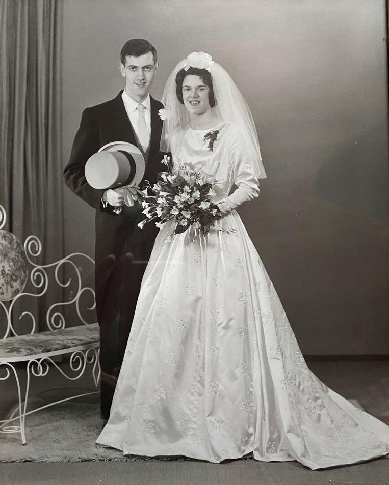Met zijn José was Dolf van den Berg 56 jaar gelukkig getrouwd Beeld Privécollectie