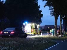 Fietser zwaargewond bij aanrijding in Barneveld