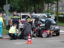 Man in scootmobiel gewond door ongeluk op kruising in Goirle