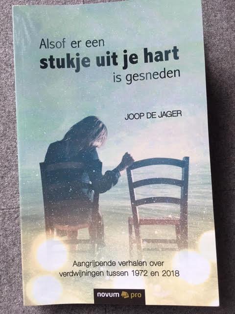 Omslag van het boek dat Joop de Jager schreef over 22 vermissingen.