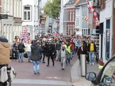 Twee aanhoudingen bij protest tegen spoedwet in Den Bosch dat vroegtijdig werd gestaakt