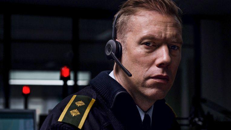 The Guilty-hoofdrolspeler Jakob Cedergren Beeld Filmfestival Rotterdam