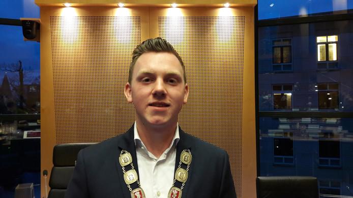 Daan Mikkers, de nieuwe jeugdburgemeester van Helmond