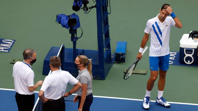 """Djokovic spreekt voor eerst na incident op US Open: """"Kan niet beloven dat ik het niet nog eens ga doen"""""""