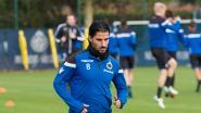Geen Refaelov bij Club voor de topper tegen Anderlecht