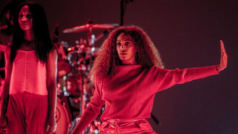 Solange tijdens haar optreden op North Sea Jazz in Ahoy Rotterdam, juli 2017. Beeld anp