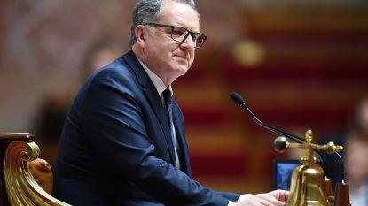 """Voorzitter Franse Assemblée nationale blijft aan:  """"Een verdachte is niet schuldig bevonden"""""""