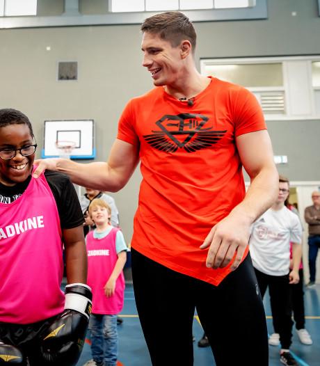 Rico Verhoeven eregast Nationale Sportweek in Den Haag