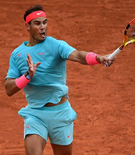 Twaalfvoudig winnaar Nadal simpel naar tweede ronde in Parijs