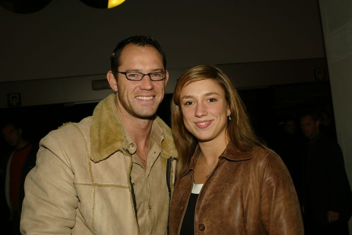 Op de foto: Natalia en haar ex-vriend Koen, die dinsdag overleed.