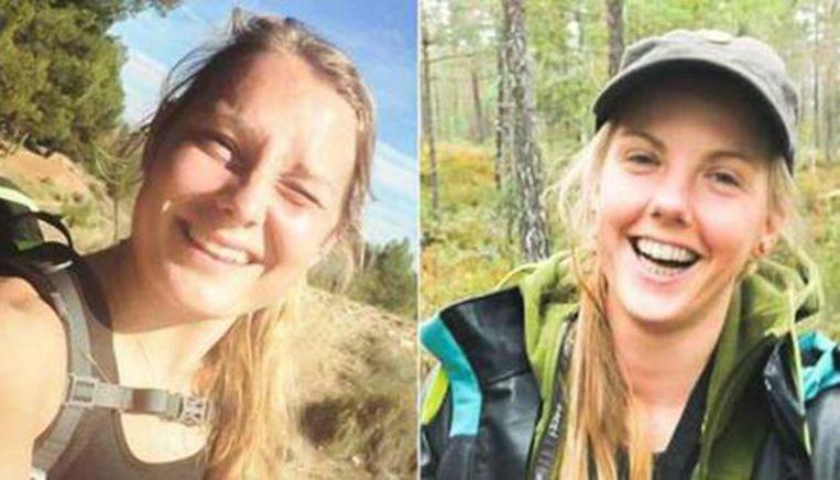 Louisa Versterager Jespersen en Maren Ueland.