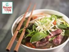 Recept van de dag: Pho (Vietnamese noedelsoep met rundvlees)