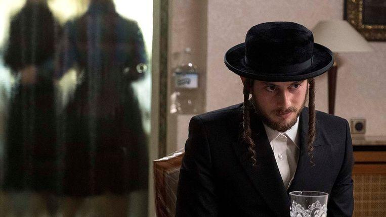 Amit Rahav als Yanky Shapiro, de man van Esty Beeld Anika Molnar/Netflix