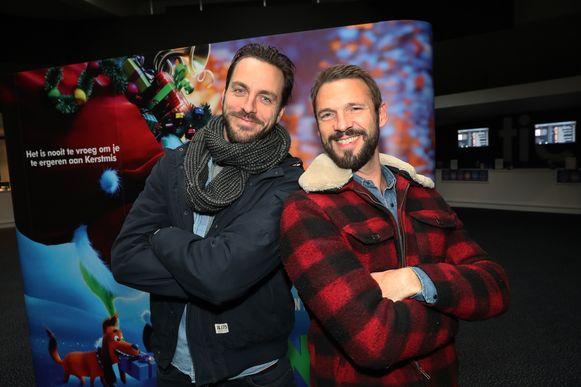 Pieter Embrechts en schoonbroer Guga Baul