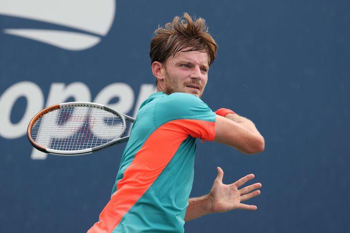 David Goffin, le 2 septembre à l'US Open