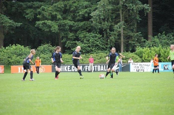 Basisschool 't Schrijverke uit Goirle deed ook mee aan het toernooi.