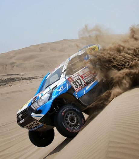 'Captain Jack' Erik van Loon niet tevreden aan Dakar-finish