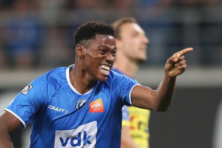 'Supersub' Jonathan David scoorde twee keer voor AA Gent.