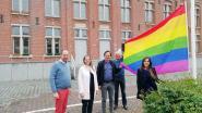 Ook in Beernem hangt nu de regenboogvlag