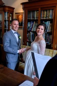 Sander en Anne trouwden op 'magisch' 20-02-2020