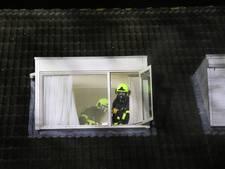 Brand in woning Geldermalsen, bewoonster naar het ziekenhuis