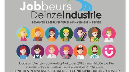 Deinze Industrie organiseert jobbeurs