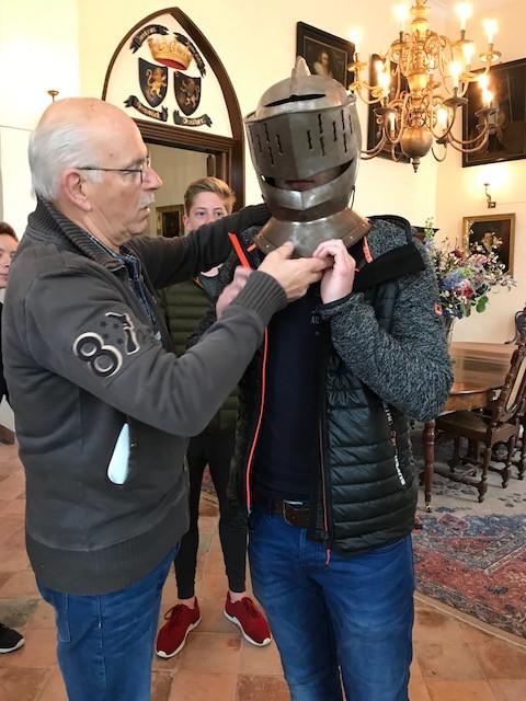 Leerlingen van Bernrode bezochten deze week Kasteel Heeswijk