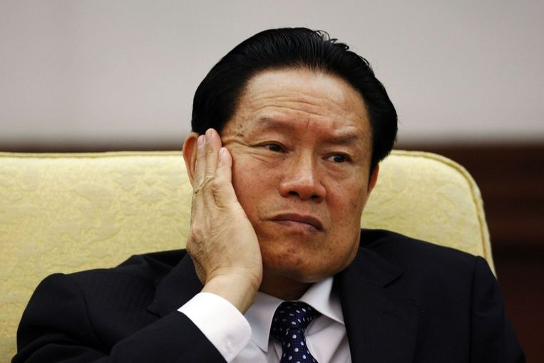 Oud-minister Zhou Yongkang Beeld null
