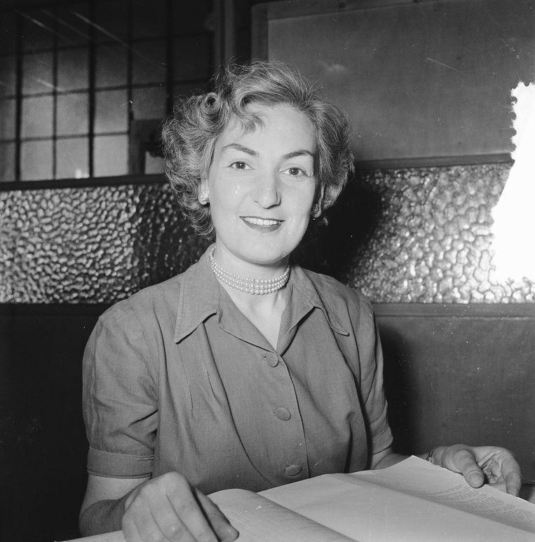 Jeanne Roos. Beeld TR BEELD