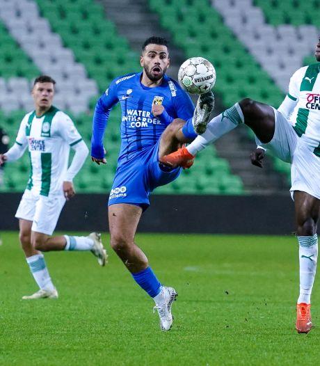 Vitesse (voor even) koploper ondanks gelijkspel in Groningen