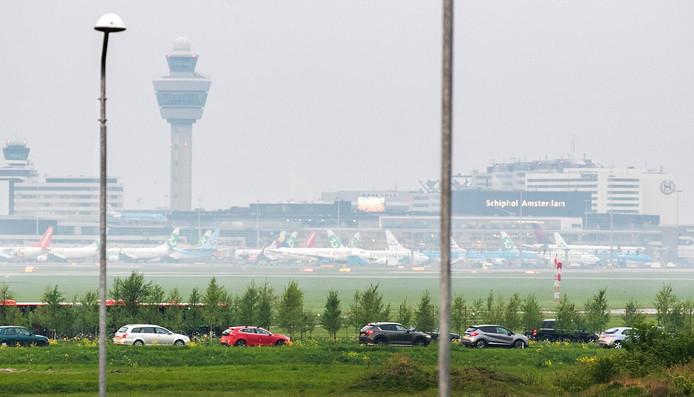 Luchthaven Schiphol.