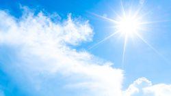 Nog enkele dagen zonnig en warm met temperaturen tot bijna 25 graden