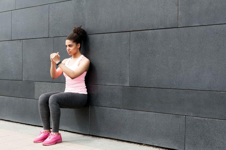 De squat is de basisoefening in de trainingsschema's van Kat.