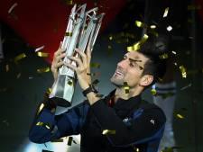 Djokovic wint opnieuw toernooi in zijn geliefde China