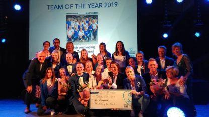 De Zorgvriend krijgt award 'team of the year'