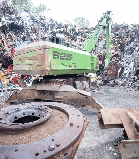 Blijdschap én nuchterheid over sluiting opslag oud ijzer Raalte