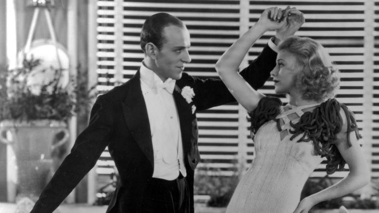 Fred Astaire en Ginger Rogers in The Gay Divorcee (Mark Sandrich, 1934). Beeld RKO/Kobal/REX/Shutterstock
