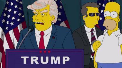 Trump werd geweigerd voor rol in 'The Simpsons'